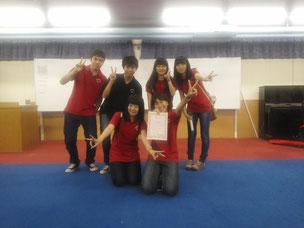 夏合宿合唱コンクールで「金賞」を受賞した49期生