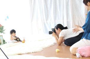 大倉山・綱島ベビーマッサージ・ベビーサイン・ふれあい遊びBaby-mama club ベビーマッサージ撮影
