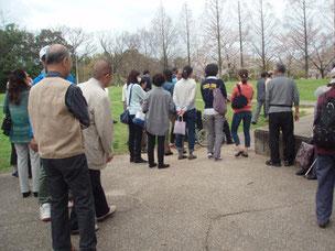 緊急待避場所の津々山台公園