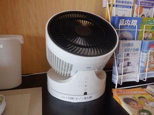 オゾン発生器(院内各部屋に設置)