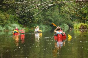 Kayak en Semois