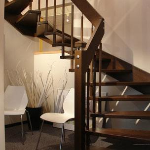 Sanierung Treppe aus Holz mit Bucher Treppen Modell HARMONIE