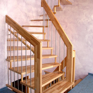 Treppenrenovierung Bucher Treppen Modell Viva!