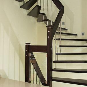 Renovierung Treppe mit Bucher Treppen Modell DESIGN
