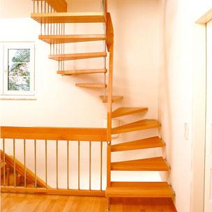 Treppenrenovierung Bucher Treppen Modell DESIGN