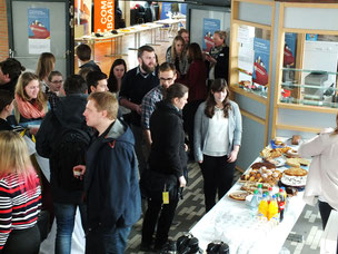 "Auf der ""17. Kotaktmesse Seefahrt & Logistik"" in Elsfleth. (Foto: Patrick Klapetz)"