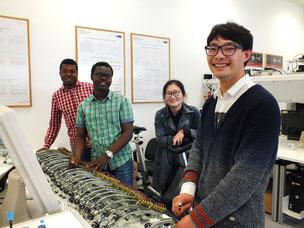 Studierende tüfteln an Dynamos für Hochleistungen (Foto: Patrick Klapetz)