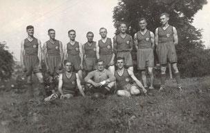 Bild: Teichler Wünschendorf Erzgebirge Handballmannschaft