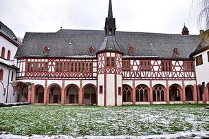 Innenhof mit Kreuzgang der Klosteranlage