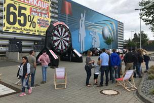 Möbelhaus Event Spiele