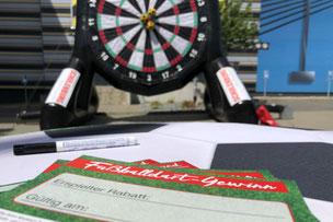 Fußball Dart mieten Schleswig Holstein