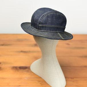 富山 帽子 デニム