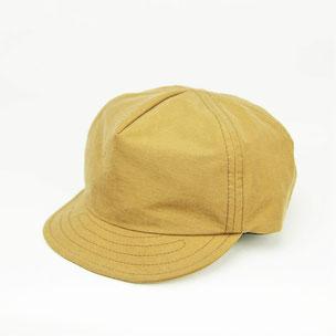 キャンプ帽子 キャメル