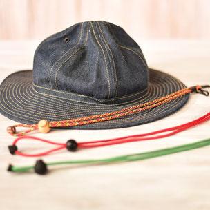 ハットストラップ  帽子あご紐