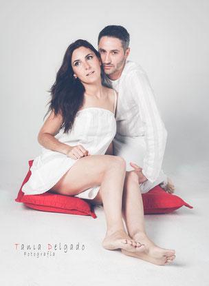 pareja, fotografia en pareja, book, enamorados, regalo original, fotografia en estudio
