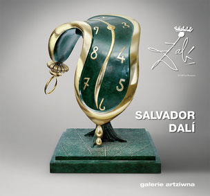 Dali Salvador Ausstellungskatalog 2014 - galerie artziwna