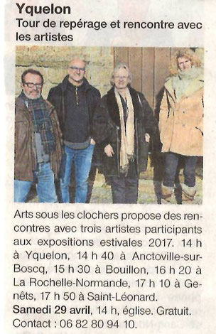 Ouest-France - 28 avril 2017