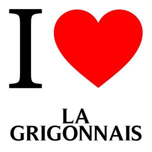 j'aime la grigonnais écrit avec un coeur rouge