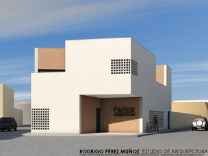 Proyecto de edificio corporativo, Rodrigo Pérez Muñoz Arquitecto