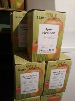 Apfelsaft, Direktsaft, Apfeldirektsaft