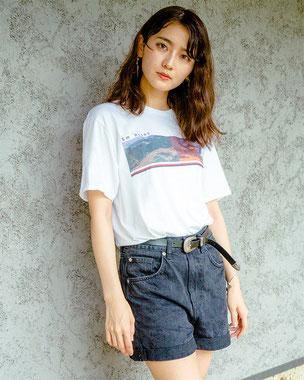 Sm point Printed T-shirt-1(White)
