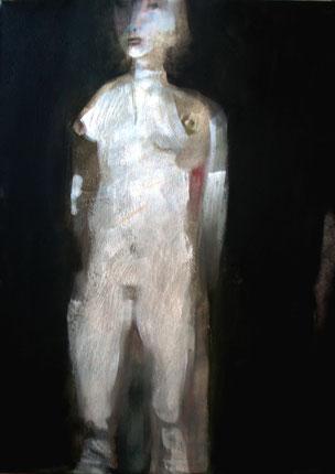 Acrilico e olio su tela cm 60 x 80 anno 2011