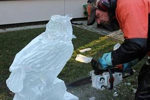party-eis.com: Live Ice Carving als Event für Ihr Unternehmen
