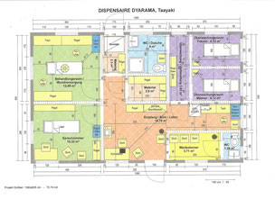 DISPENSAIRE DYARAMA Taayaki, Plan