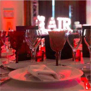 création identité, graphisme, scénographie, set design, stylisme, soirée, événement, marque, luxe, corporate diner