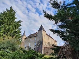 visites en Forez-Est chateau de Chenevoux Bussières