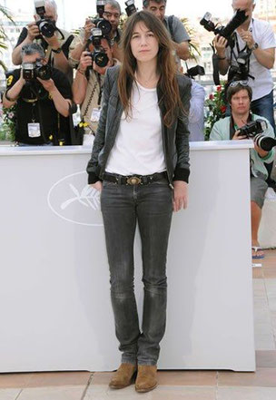 Look Charlotte Gainsbourg