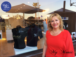 #mymonic #cafedelmarclubbarcelona #bcn #luxury #camisetas con swarovski #moda #tshirts #eventos #logo #empresas #ropa swarovski #logo #swarovski #camiseta swarovski #polo swarovski