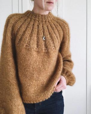 Strickset Sunday Sweater von PetiteKnit bei Wooltwist.de