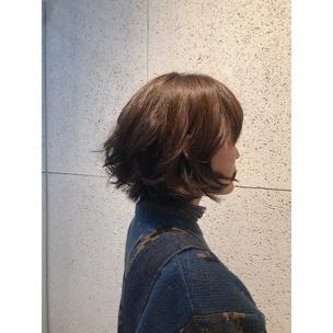 横浜 石川町 美容室 Grantus ショートスタイル レイヤースタイル   秋冬