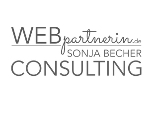 LOGO SONJA BECHER WEBPARTNERIN