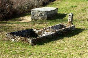 Fontaine-lavoir  et captage de la source de La Palud (hameau de Champdor)