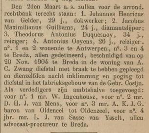 Bredasche courant 29-01-1905