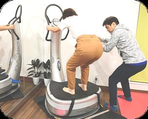 腿の前の筋肉を鍛える運動