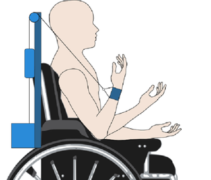 Concept for the wheelchai mounted assistive device.