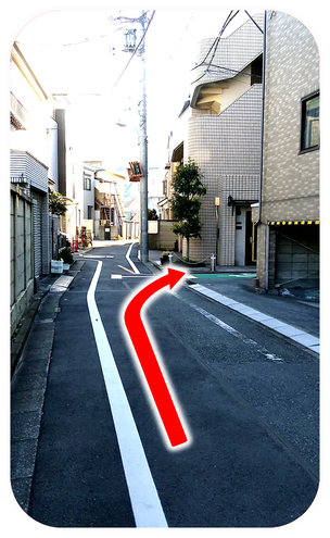 Shinjuku-Kagurazaka-therafit-body-care-station-turn-the-third-turn-to-the-right-directions-to-the-store