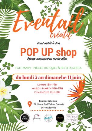 Flyer Boutique Ephémère Alfortville Une Embellie Juin 2017