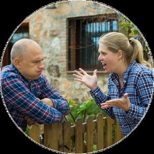 Mediation Konfliktlösung Nachbarschaft