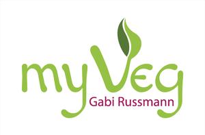 """Logo """"my Veg"""" für Gabi Russmann"""