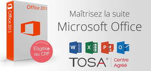 FORMATION INFORMATIQUE BUEAUTIQUE PACK OFFICE CERTIFICATION TOSA - WORD EXCEL OUTLOOK POWERPOINT - ELIGIBLE CPF - ATC FORMATIONS - CHALLANS  - VENDEE - SAINT JEAN DE MONTS - LA ROCHE SUR YON - SAINT GILLES CROIX DE VIE – MACHECOUL - NOIRMOUTIER