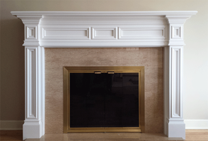 With your approval, we will build the mantel exactly as specified and send it to your doorstep.