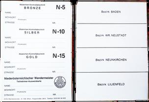 Stempelkarte Niederösterreich