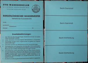 Stempelkarte Burgenland