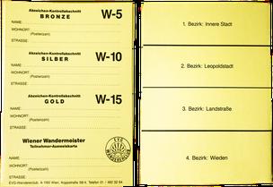 Stempelkarte Wien