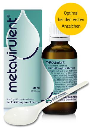 Packshot metavirulent mit Löffel