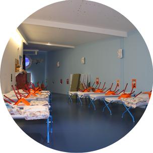Dortoirs Ecole Maternelle Maupas Percy-en-Normandie